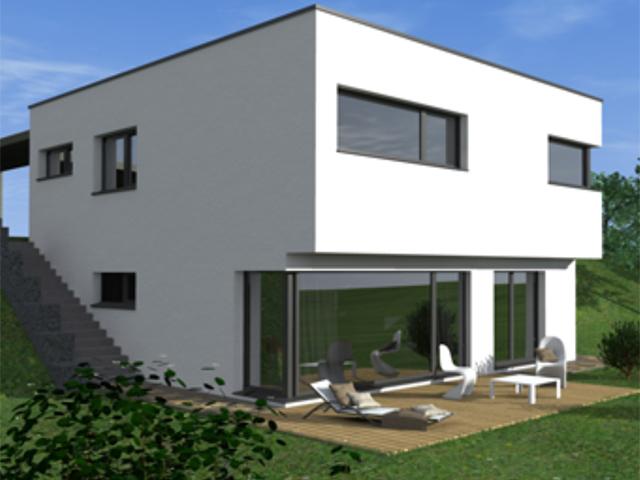 Villa individuelle 1632 riaz vente tissot immobilier for Achat maison suisse romande