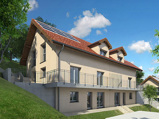 TissoT Real Estate VILLARS-BURQUIN