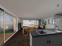 Corbières - Splendide Villa individuelle 5.5 Zimmer - Verkauf - Immobilien