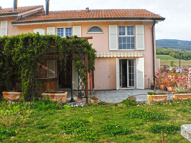 Champagne - Villa mitoyenne 5.5 Rooms - Sell buy TissoT real estate
