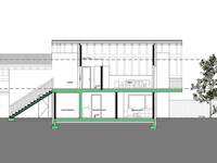 Bien immobilier - Saxon - Appartement 4.5 pièces
