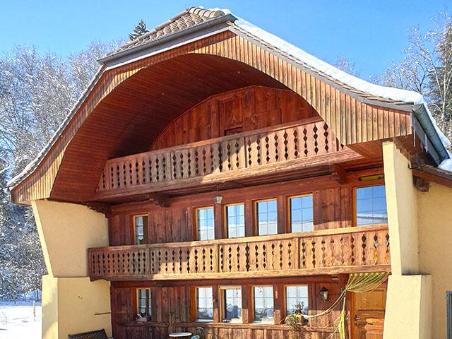 Massonnens - Splendide Maison 5.5 pièces - Vente immobilière