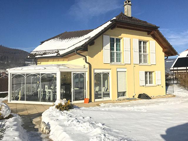 Vallorbe - Villa 5.5 Locali - Vendita acquistare TissoT Immobiliare