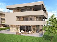 Bulle -             Ground-floor flat with garden 4.5 Rooms