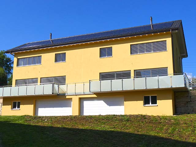 Vallorbe  - Villa mitoyenne 6.0 Rooms - Sell buy TissoT real estate