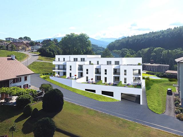 Remaufens - Attique 4.5 Zimmer - Verkauf Kauf TissoT Immobilien
