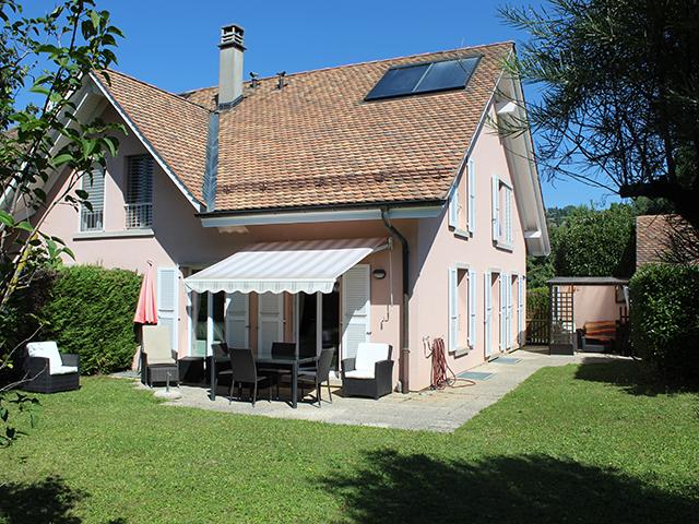 Féchy - Splendide Villa mitoyenne 6.5 pièces - Vente immobilière