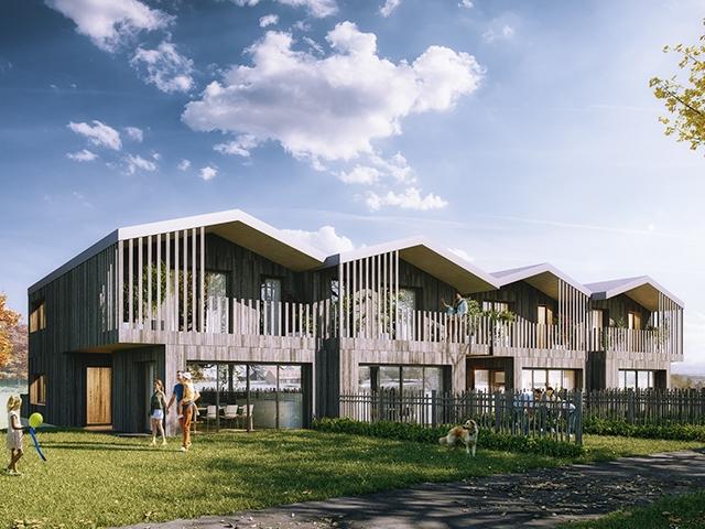 Villarlod - Splendide Villa mitoyenne 4.5 pièces - Vente immobilière