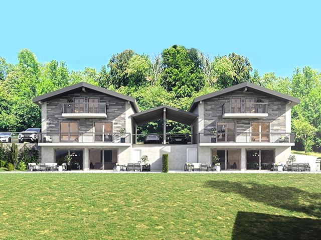 Les Neyres - Splendide Villa jumelle 5.5 pièces - Vente immobilière