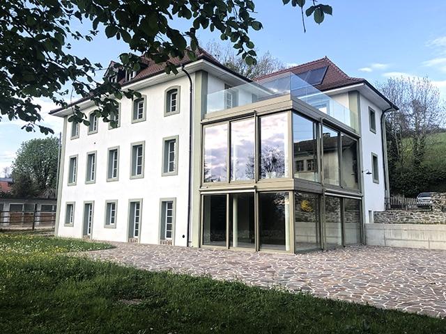 Le Mont-sur-Lausanne - Splendide Maison de maître 14.0 pièces - Vente immobilière