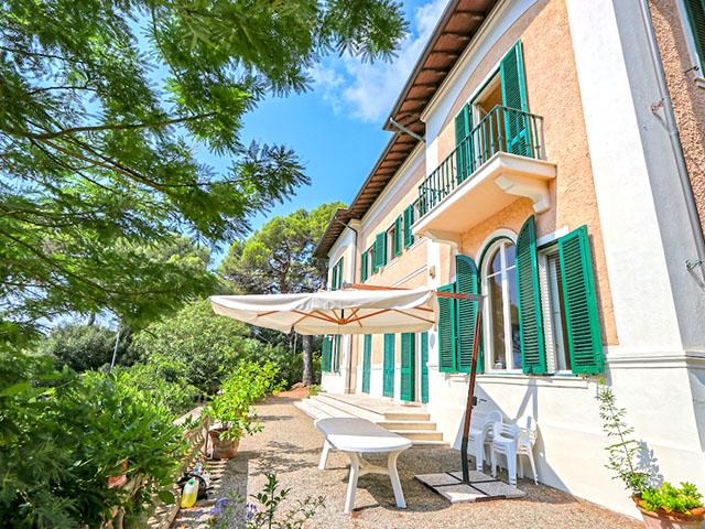 Quercianella -  Villa - Immobilienverkauf - Italien - Kaufen Mieten Verkaufen Häuser Wohnungen Wohnhäuser TissoT