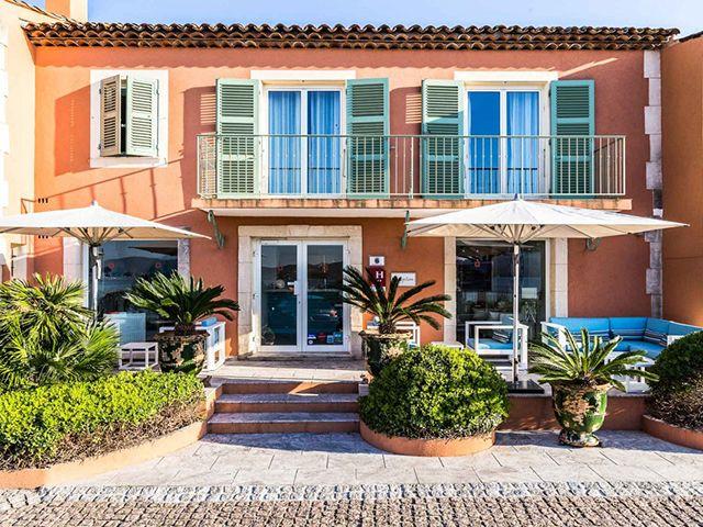 Bien immobilier - Saint-Tropez - Hôtel 18.0 pièces