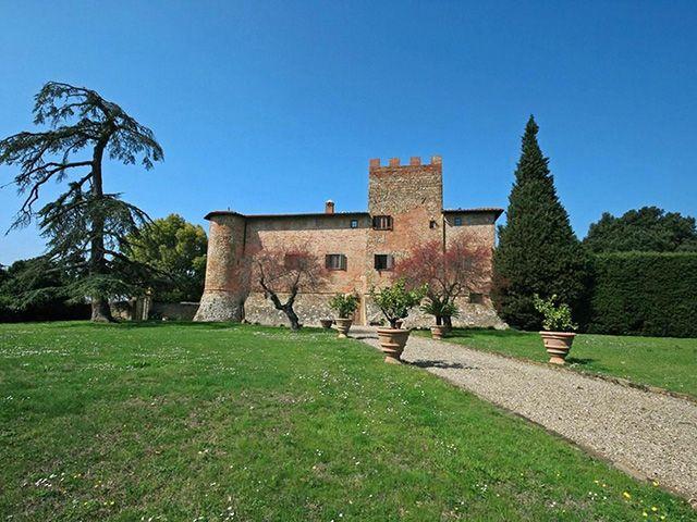 Firenze - Schloss  Zimmer - Immobilienverkauf