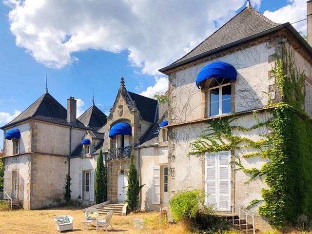 La Grande-Verrière - Château 15.0 Zimmer - Lux-Homes Schlösser Ländereien Immobilien Prestige Charme Luxus TissoT