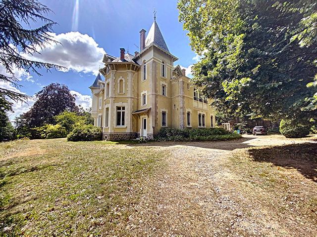Saint-Julien-Molin-Molette -  Castello - Immobiliare vendita Francia Appartamento Casa TissoT