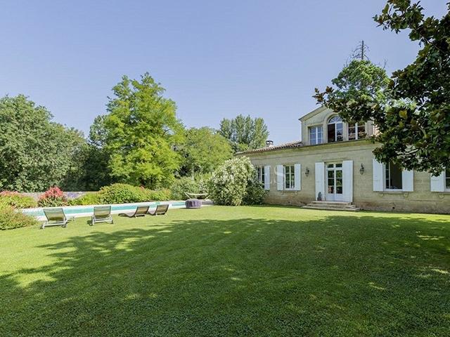 Barsac - Magnifique Château 12.0 pièces - Vente immobilière
