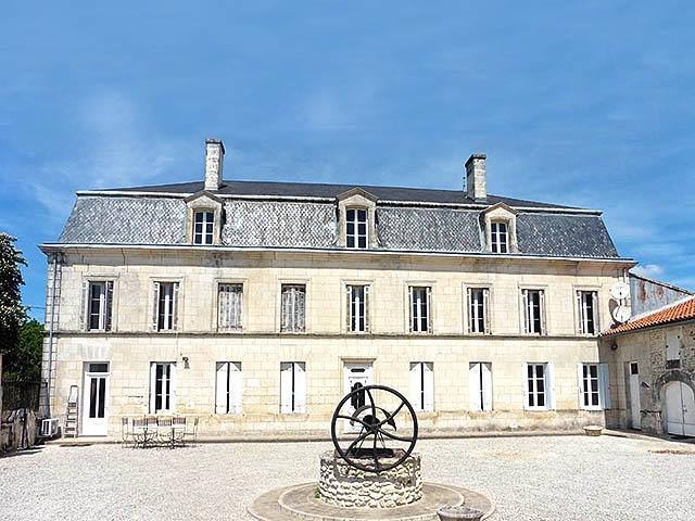 Meschers-sur-Gironde - Schloss 10.0 Zimmer - Immobilienverkauf