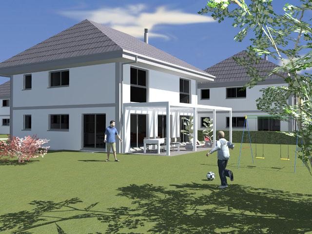 Vich - Doppeleinfamilienhaus 6.5 Zimmer - Immobilienverkauf