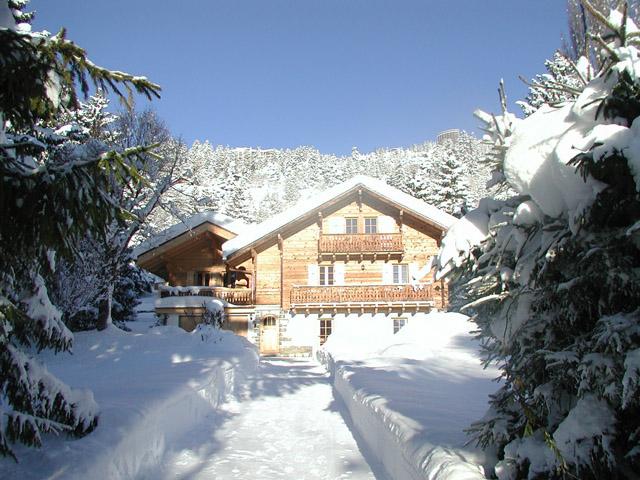 Crans-Montana - Chalet 6 Zimmer - Lux-Homes Berge Alpen Immobilien Prestige Charme Luxus TissoT
