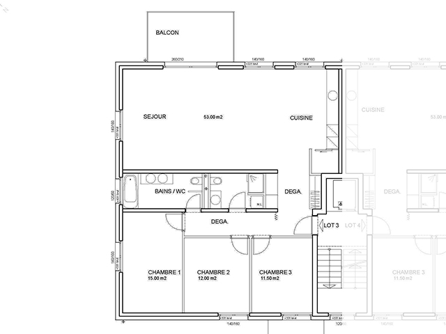 St-Cierges TissoT Immobilier : Appartement 4.5 pièces