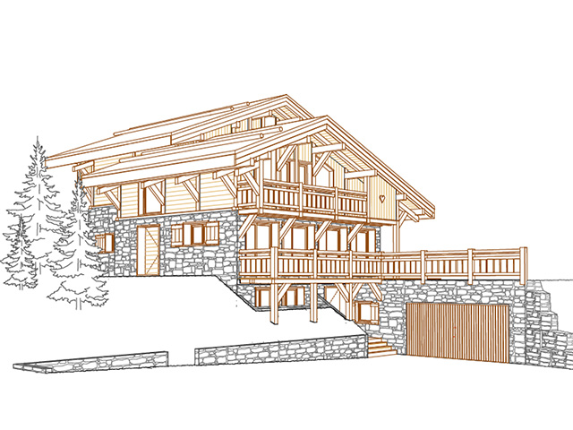 Villars-sur-Ollon -Chalet 10.5 rooms - purchase real estate prestige charme luxury
