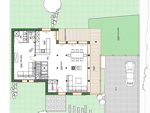 Villars-sur-Ollon TissoT Immobilier : Chalet 10.5 pièces