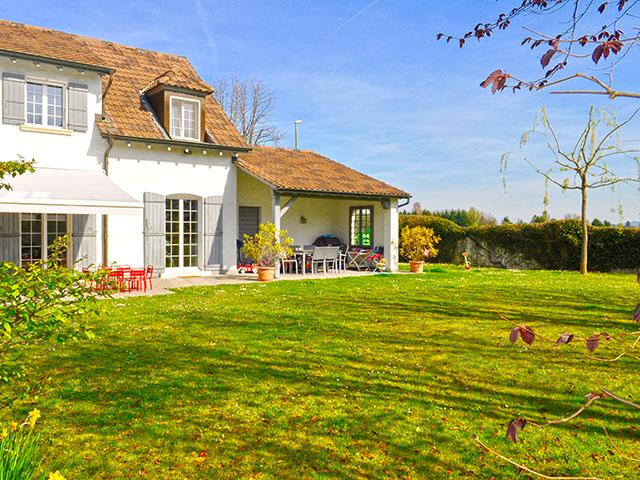 Thônex - Magnifique Villa mitoyenne 7.0 pièces - Vente immobilière