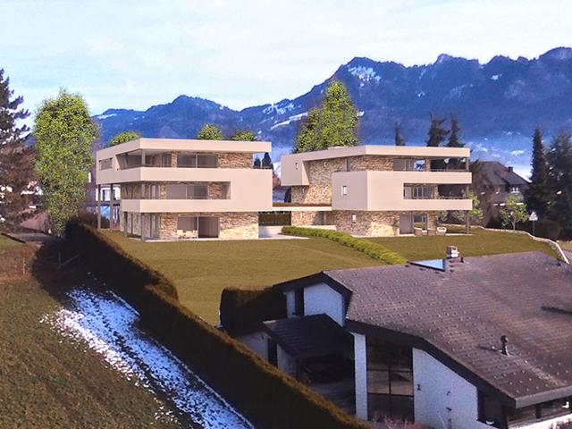 Bulle - Magnifique Rez-jardin 4.5 pièces - Vente immobilière montagne alpes