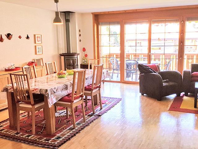 Charmey - Appartement 4.5 Zimmer - Alpine Real Estate Immobilien Alpen Berge TissoT