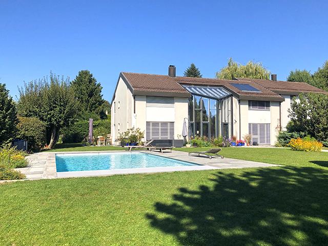 Bien immobilier - Sullens - Villa contiguë 8.0 pièces