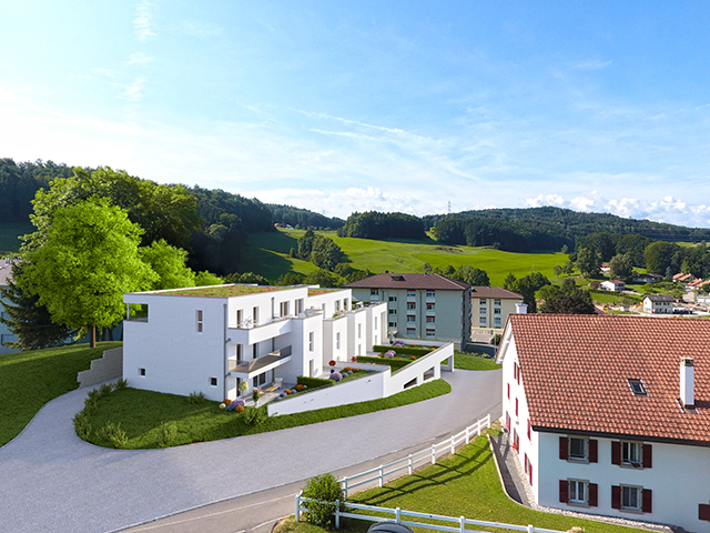 Remaufens 1617 FR - Attique 4.5 pièces - TissoT Immobilier