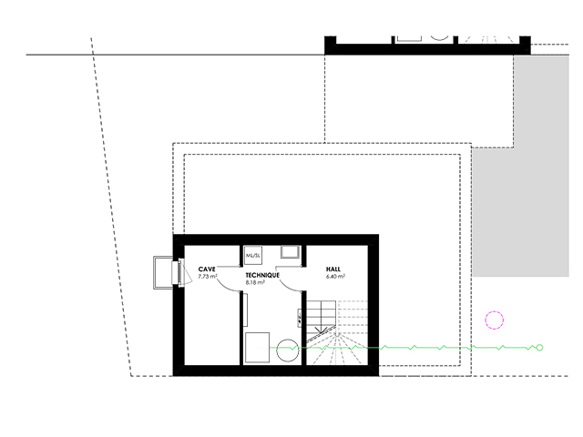 Bien immobilier - Attalens - Villa 5.5 pièces