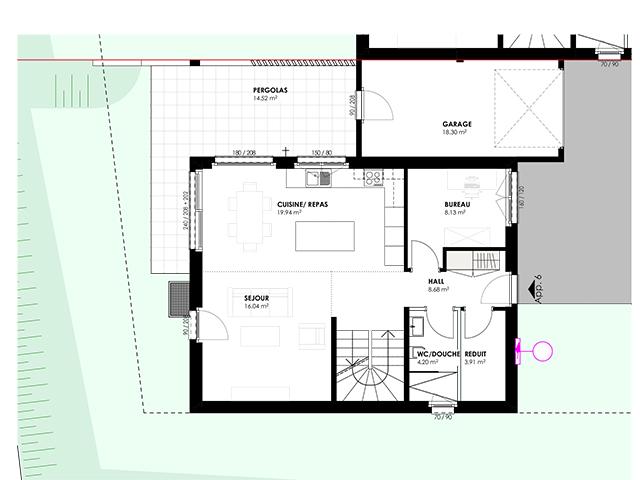 Attalens TissoT Immobilier : Villa 5.5 pièces