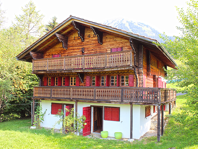Le Sépey -Chalet 7.0 rooms - purchase real estate prestige charme luxury