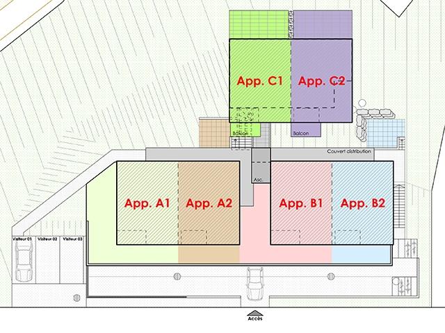 Bulle - Duplex 3.5 pièces