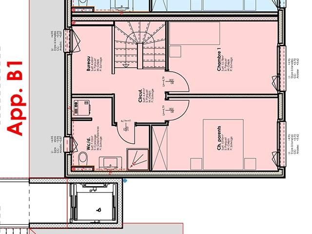 Bulle 1630 FR - Duplex 3.5 pièces - TissoT Immobilier
