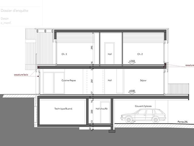 Villarlod TissoT Realestate : Villa mitoyenne 4.5 rooms