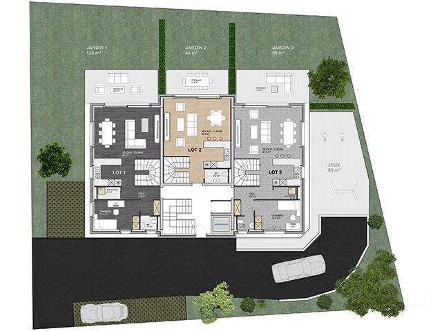 Immobiliare - Attalens - Appartamento 5.5 locali