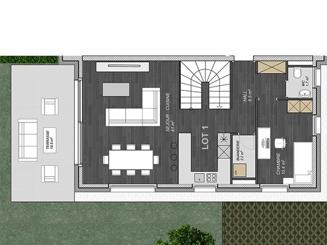 Attalens TissoT Immobiliare : Appartamento 5.5 rooms