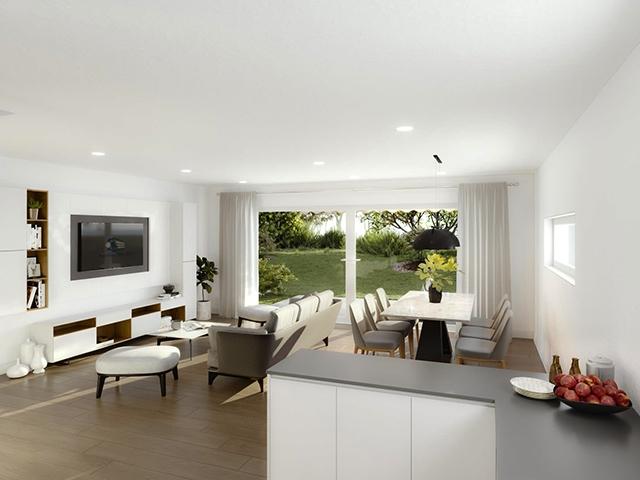 Bien immobilier - Attalens - Attique 3.5 pièces