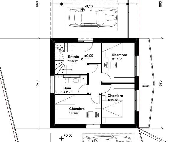 Les Neyres TissoT Immobiliare : Ville gemelle 5.5 rooms