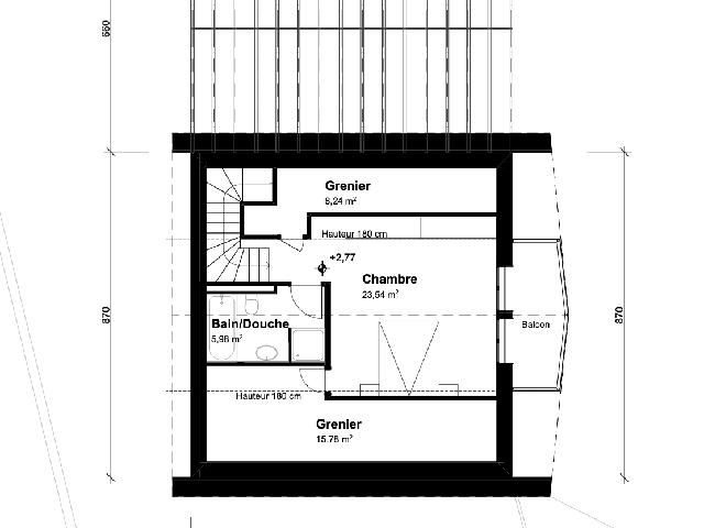 Les Neyres 1868 VS - Ville gemelle 5.5 rooms - TissoT Immobiliare