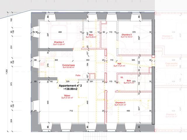 Châtel-St-Denis TissoT Immobilier : Appartement 5.5 pièces