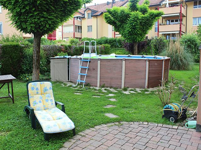 Yverdon-les-Bains TissoT Immobilier : Rez-jardin 3.5 pièces