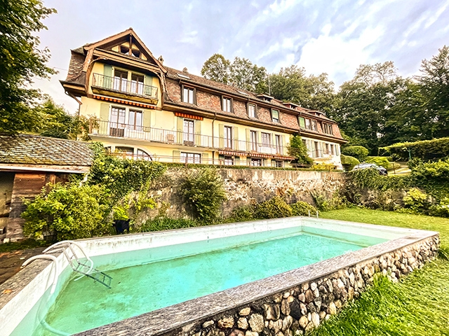 Essertines-sur-Rolle - Casa padronale 21.0 locali - Immobiliare transazione
