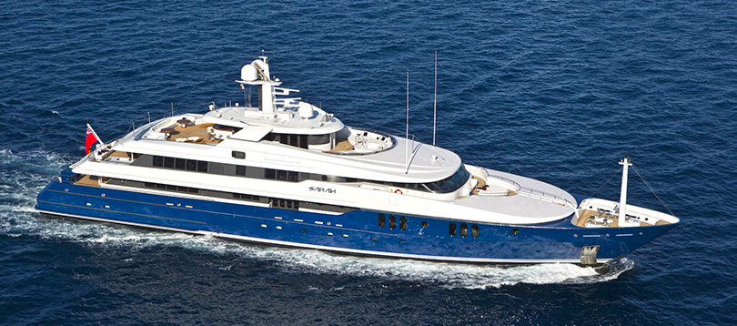 Amels - Splendide Sarah 2002 TissoT Yacht Charter  Switzerland