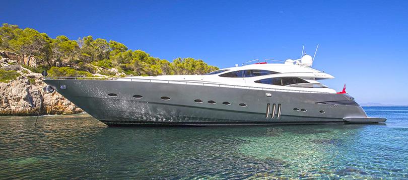 Pershing - Splendide Pershing 90 2009 TissoT Yacht Charter  Switzerland