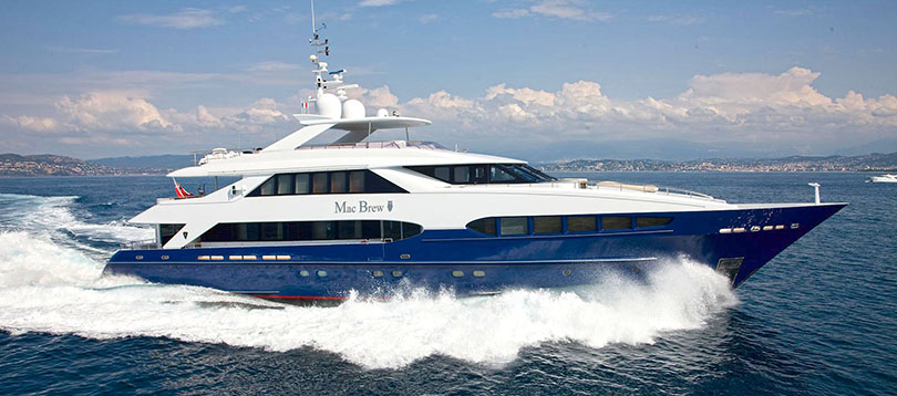 Heesen - Splendide Mac Brew 2002 TissoT Yacht Charter  Switzerland
