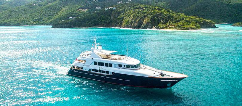 Trinity Yachts - Splendide Trinity 142 2005 TissoT Yacht Charter  Switzerland