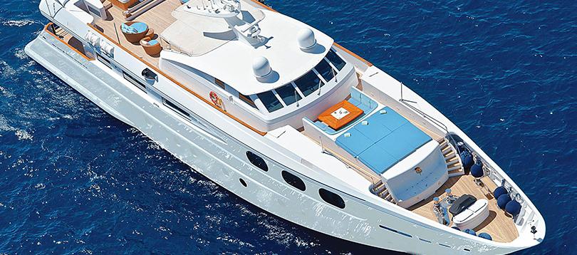 Acheter Superyacht 40 CBI Navi TissoT Yachts Switzerland